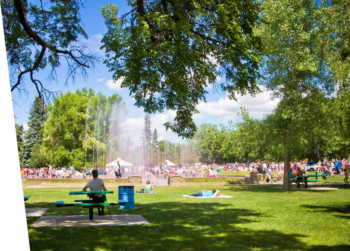 Galt Gardens park event